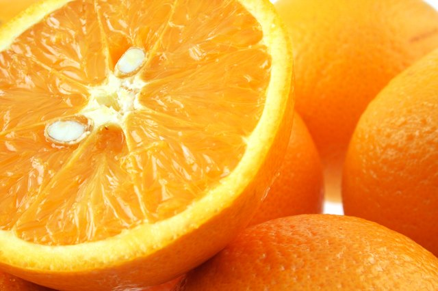 Oranges contain thiamine.