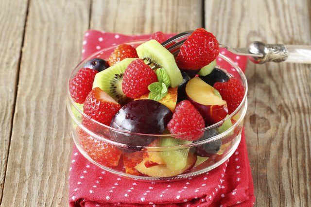 You can save hundreds of calories each time you choose a serving of fruit or fresh fruit salad instead of a high-calorie dessert.