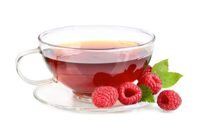 Red raspberry leaf tea has a better track record with pregnancy.