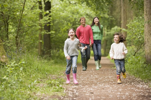 Children should get at least 30 minutes of moderately intense physical activity.