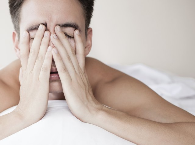 Elevated cortisol can cause insomnia.