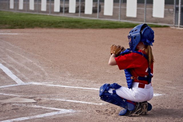 Catchers need to work on squats and quick firing muscles to get the ball to second as quickly as possible.