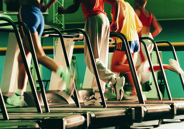 Treadmills can burn up to 1,200 calories per hour.