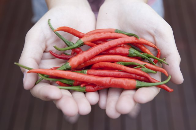 Spicy foods trigger diarrhea for many.