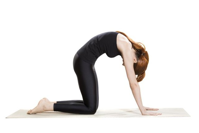Yoga can improve flexibility in low back muscles.