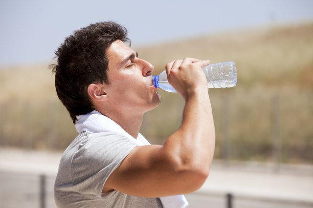 Drinking fluids during your workout is important for your health.