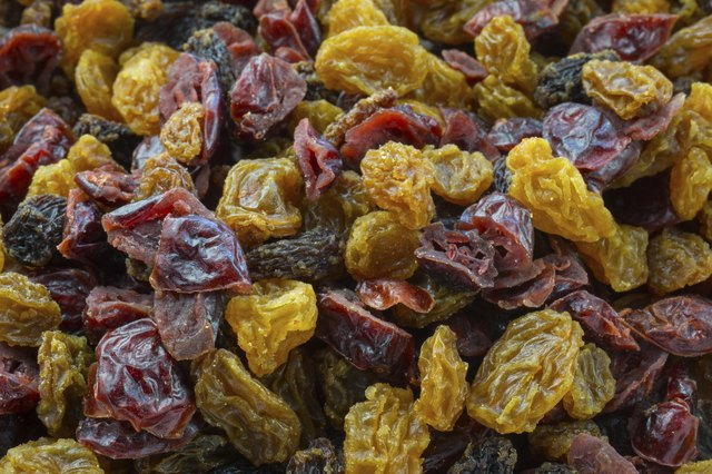 Dried fruits are some of the richest glucose sources.
