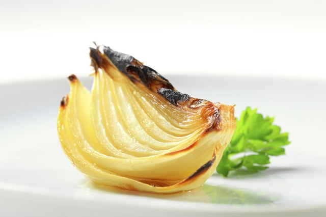 Cooking onions with other foods adds taste and nutrients.