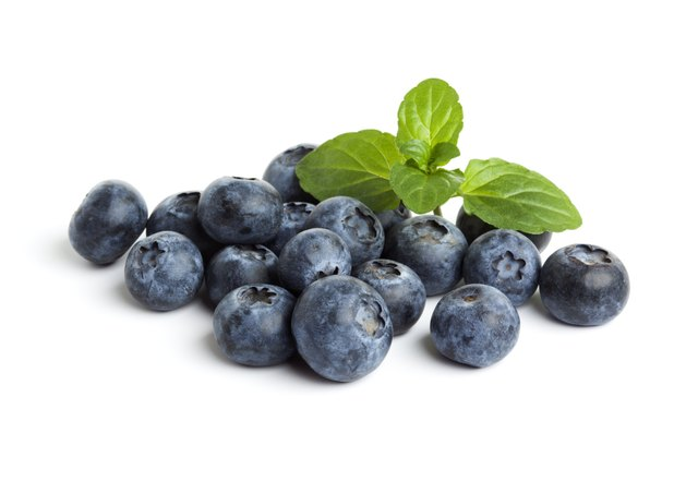 Blueberries are allowed during Phase 2.