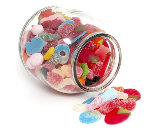 Candy contains sorbitol.