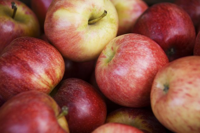 cellulose can be found in apple skin