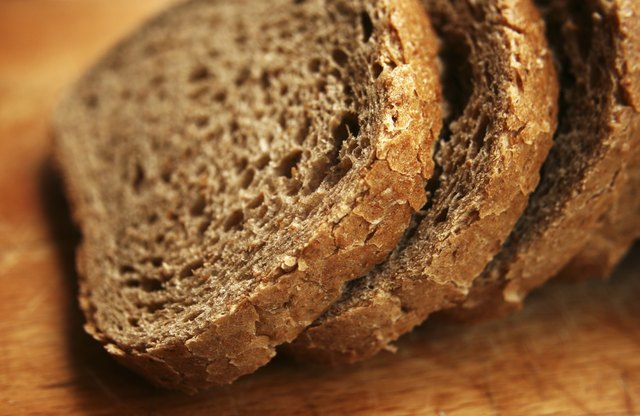 Whole grain bread has many uses and is very healthy.