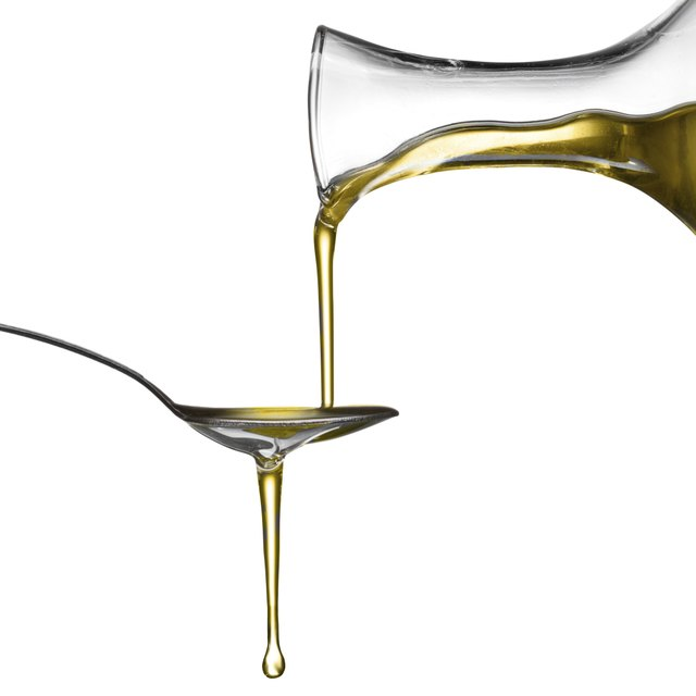 Teaspoon of oil.