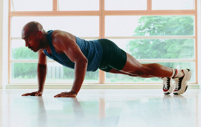 Pushups target multiple muscle groups.