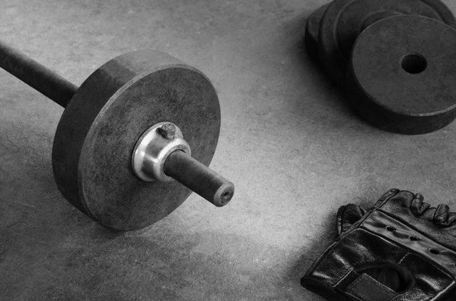 Swap the barbell for a dumbbell.