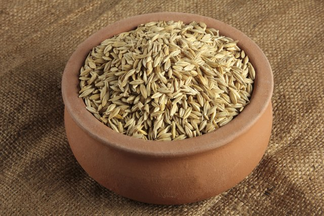 barley is high is soluble fiber