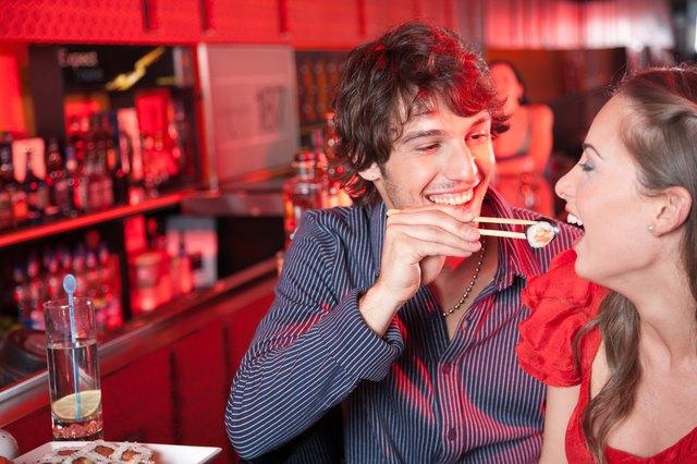 Le sushi est une source rapide et facile de protéines.