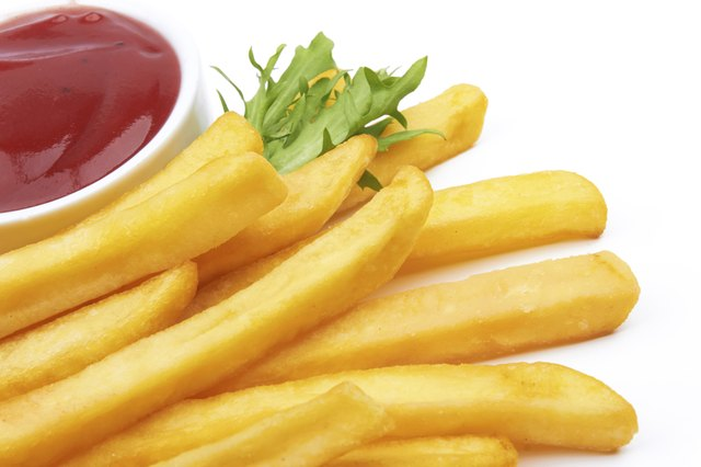 French fries are refined carbohydrates.
