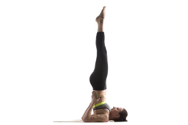 Shoulderstand should be attempted only after you have an established practice.