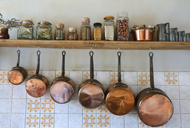 Home cooks may prefer copper pans lined with stainless steel for making sauces.