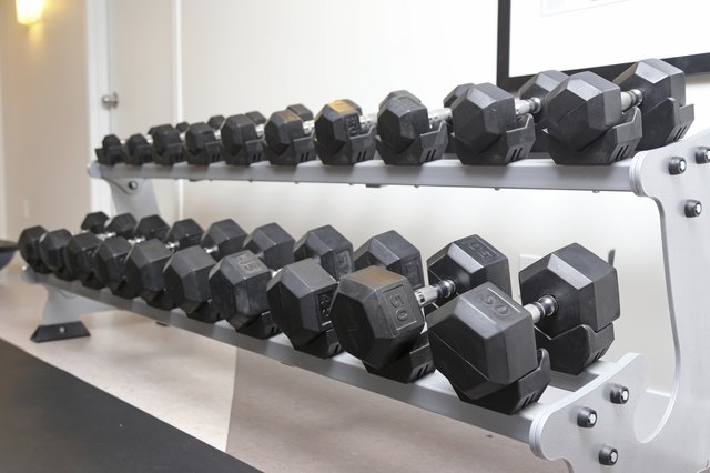 Training with weight-resistance machines at your local gym helps build muscle.