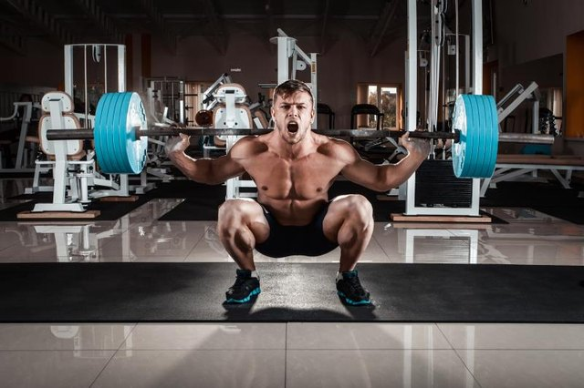 Exercises such as the squat and deadlift require a lot of lower back strength.