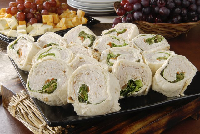 Turkey roll ups.