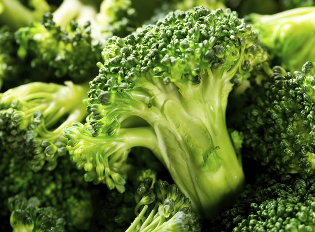 Close up of fresh broccoli