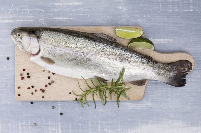 trout is a heart-healthy source of the coenzyme Q-10