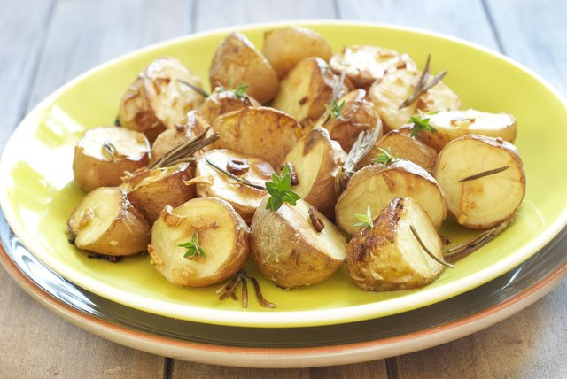 Consume potatoes with the peels on.