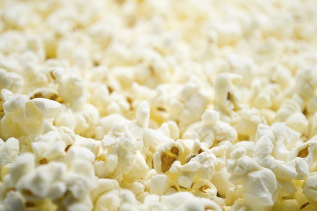 Popcorn is a good snack.