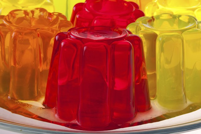 gelatin desserts are high in water and low in calories