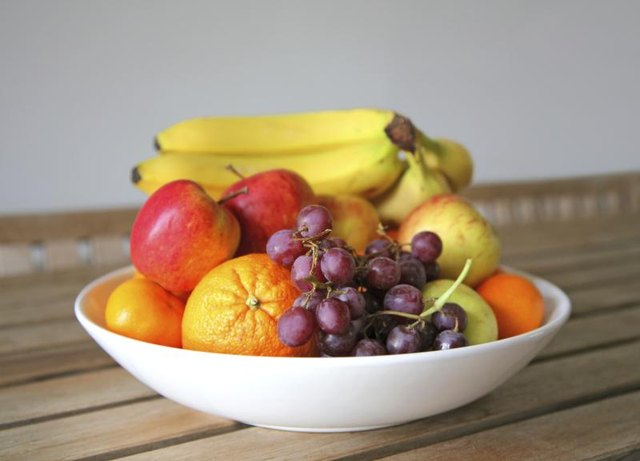 "Fruits are considered an ""everyday"" food."