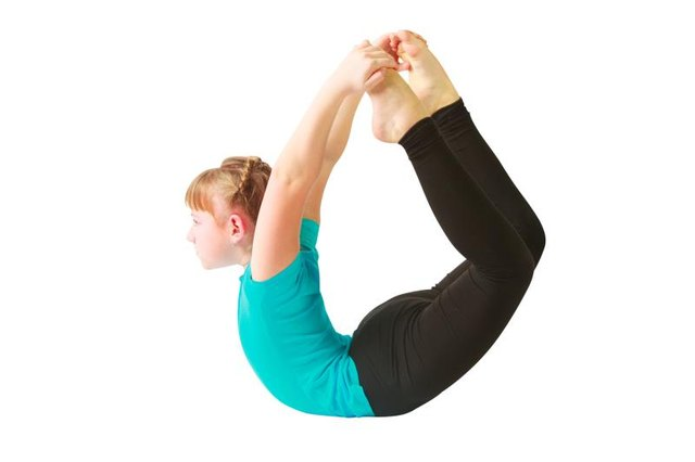 Bow pose is a back-bending exercise, making it friendly for your SI joint.