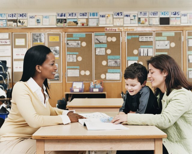 Parents can help when they are involved in school activities.