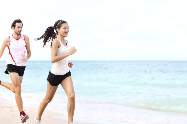 Perform aerobic exercises five to six days a week.