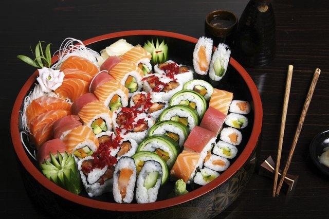 grand plateau à sushi