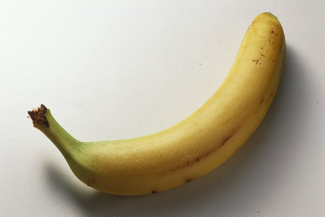 Bananas offer potassium.