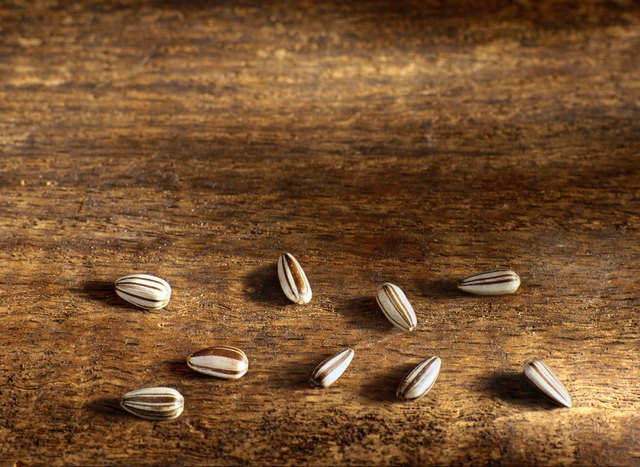 Vitamin E is found in sunflower seeds.
