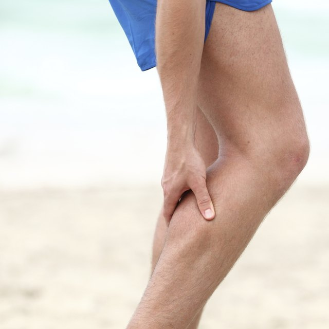 The cramp can occur in all or just part of the muscle.