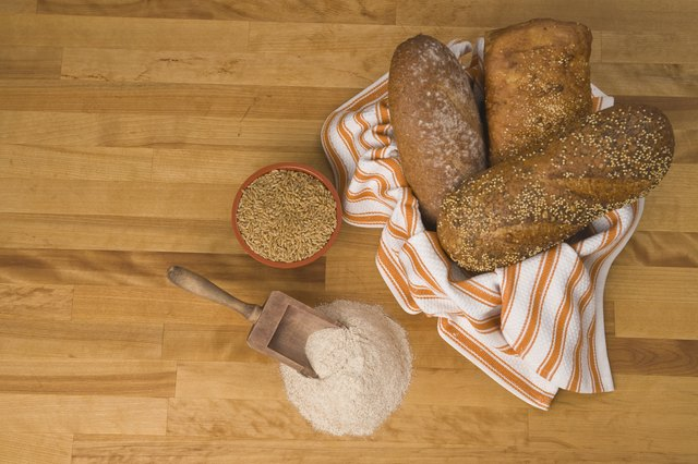 Whole grains are an important part of a balanced diet because they supply complex carbohydrates.