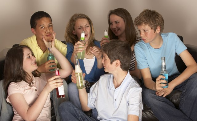 Delinquent acts of adolescents are a bad influence on younger children.