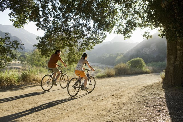 Biking is another good exercise to increase circulation in your legs.