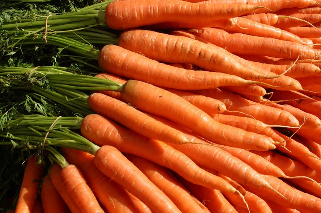 Carrots are a versatile vegetable which can be cooked with many dishes or eaten alone.