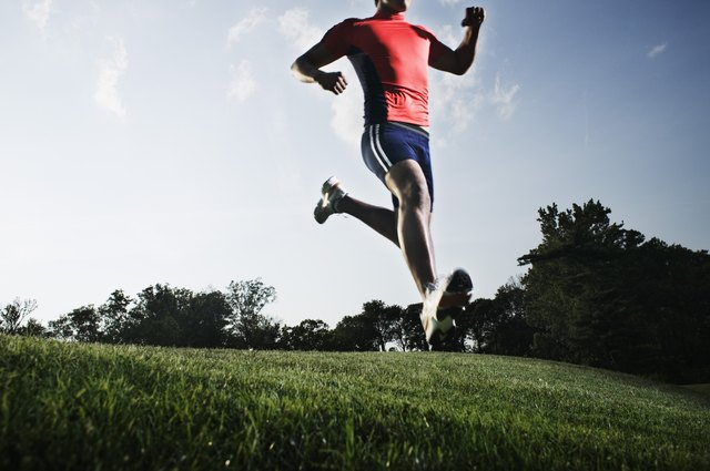 Running builds the lower abdominal muscles.