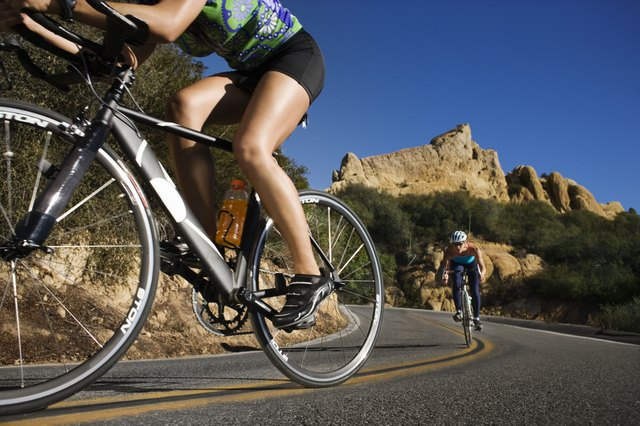 Biking is a great form of cardiovascular exercise.
