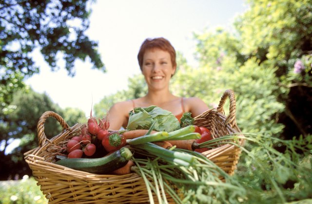A diet rich in fresh, organic produce is recommended.