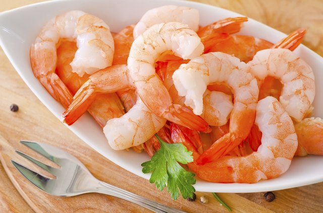 Shellfish have low carbs and high potassium.