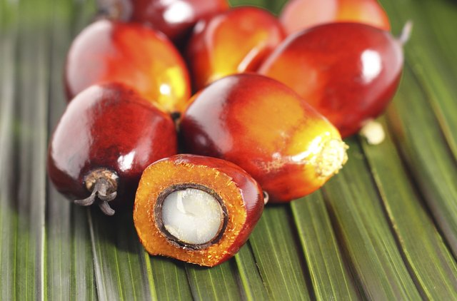 Red palm oil is not only very hight in vitamin E, but also in beta carotene.