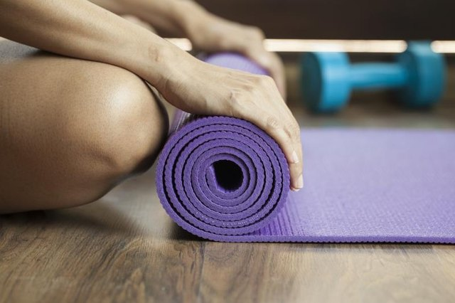 Bring your mat if you're ready to give knuckle push-ups a try.